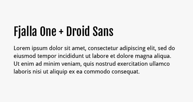 fjalla-one-droid-sans