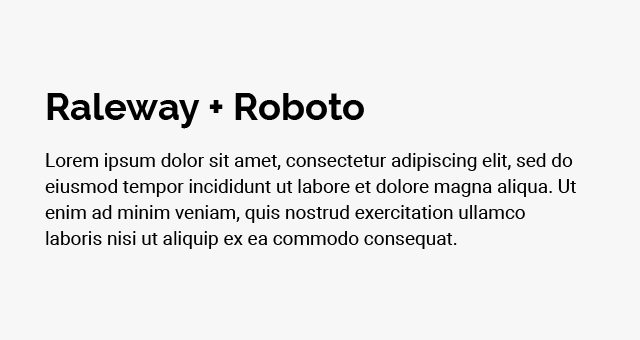 raleway-roboto
