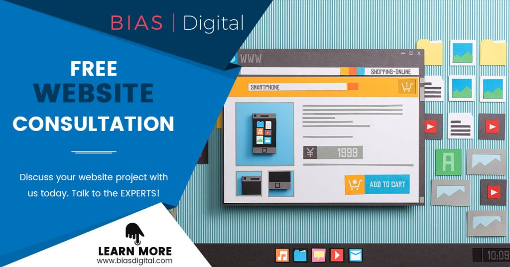 Website consultation call to action