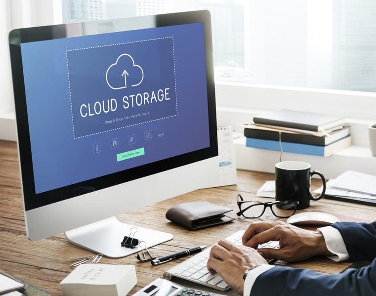Customer using cloud service as a productivity tool